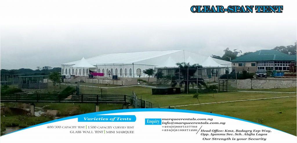 marquee tent Nigeria