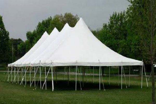pole marquee tents