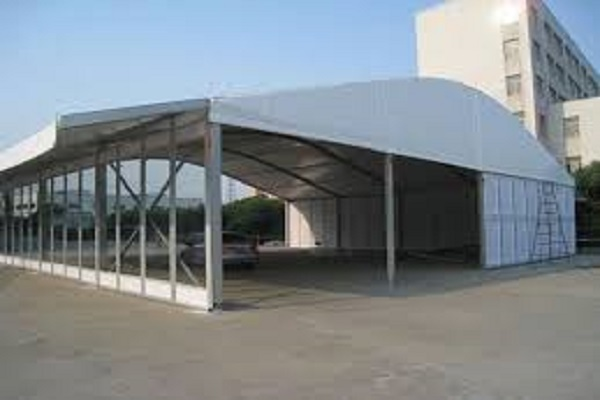 polygon marquee tent